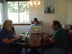 Joan, Bobby & Leslie all work at NOAA