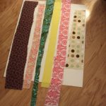 A small sampling of scrap strips