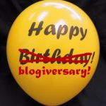 blogiversary balloon