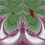 Fractal Milkweed & beetle