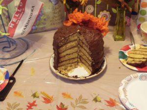 My Decade Cake