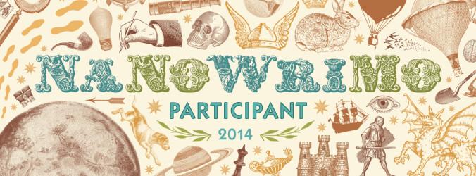 NaNoWriMo participant 2014 banner