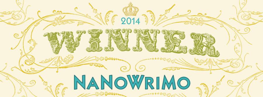 NaNoWriMo Winner 2014 banner