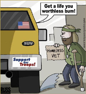 homeless vet comic