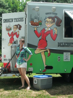 Michelle and the Smokin Thighs food truck, Nashville