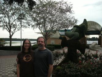 Laura Bruno Lilly and Dennis Bruno (Orlando 2014)