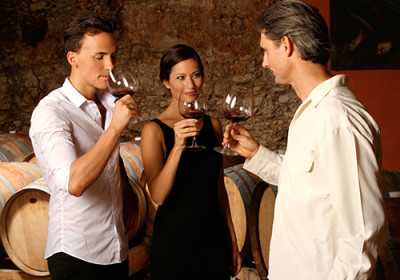 wine tasting group