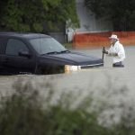 newspaper photo flooding in florence sc