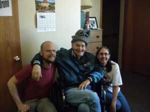Joe, Dad and me