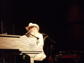 Leon Russell, Cone Denim Concert June 2015