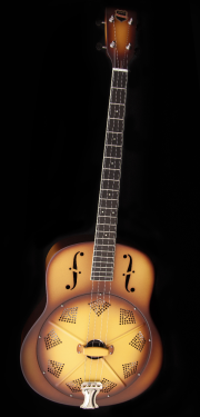 triolian national tenor resonator guitar