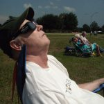Hubby, after Totality
