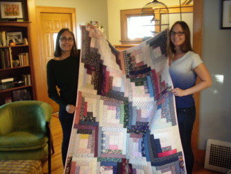 Mother/Daughter Quilt - Our Quilt