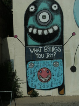 What Brings You Joy? Boulder, Colorado mural