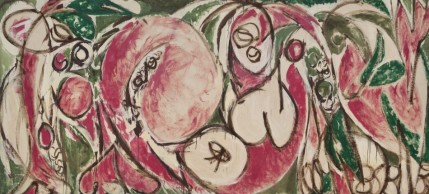 Lee Krasner, The Seasons, 1957 (click on photo for credit reference)