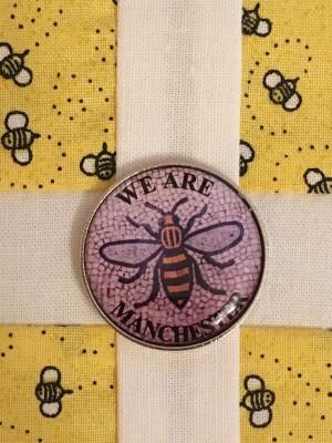 My Manc Bee Badge on my Proud2Bee block