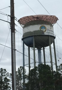 South Florence, SC water tower