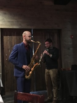 Joe and David playing the star set-piece
