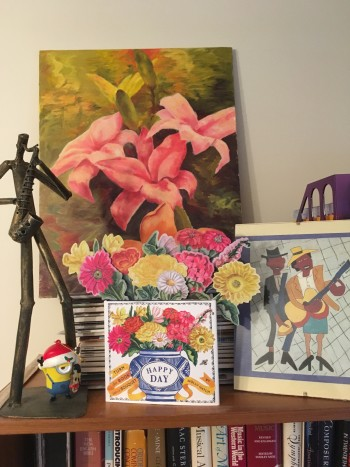 On the road to healing with Minions, music and happy day bouquets!