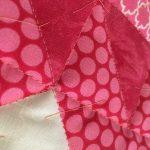 pretty pink stitches