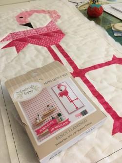 Pink Flamingo Wall Hanging Kit