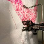Using left sided quilting bar