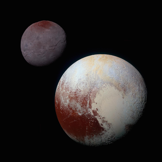 pluto and charon from new horizons