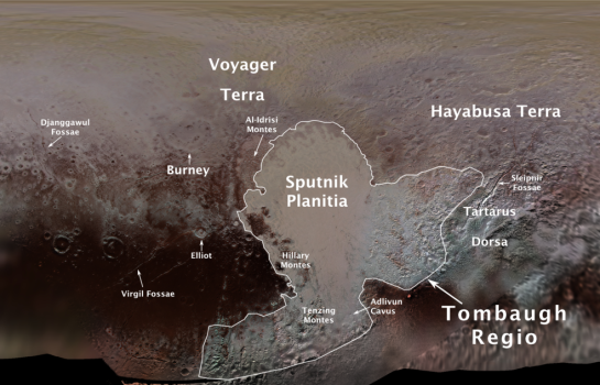 pluto features map