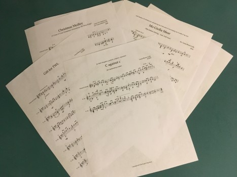 4/6 'Final Finals' music scores 100% finished!