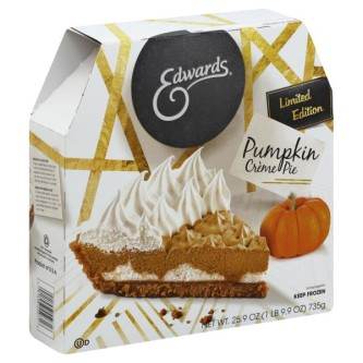 Edwards Spiced Pumpkin Creme Pie