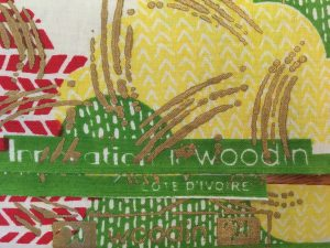 Woodin Fabric selvages
