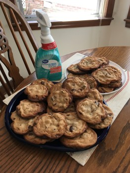 Cookies and Clorox