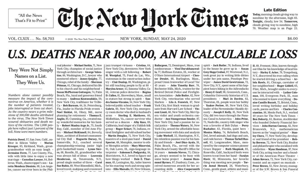 NYT-front-page-05-24-20-COVID-19