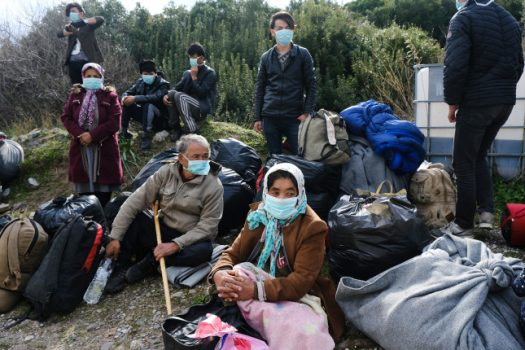 syrian refugees and COVID