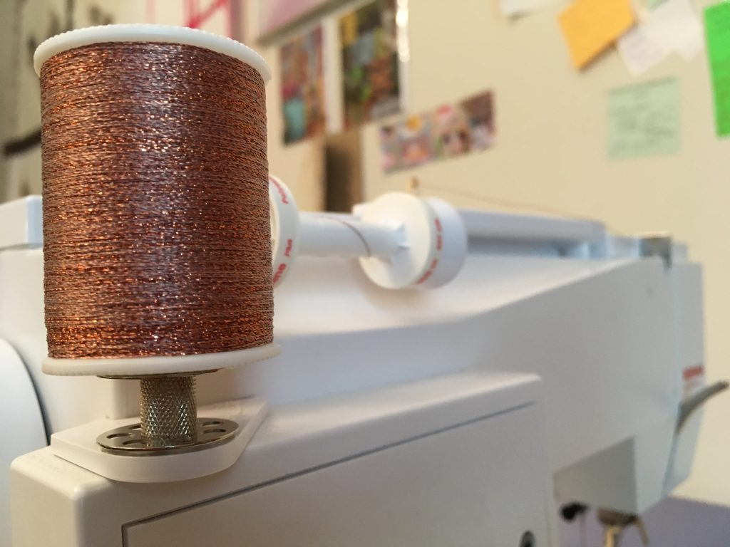 Copper Metallic Thread Machine Set-Up