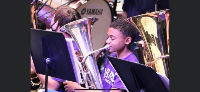 A Boy and his Tuba