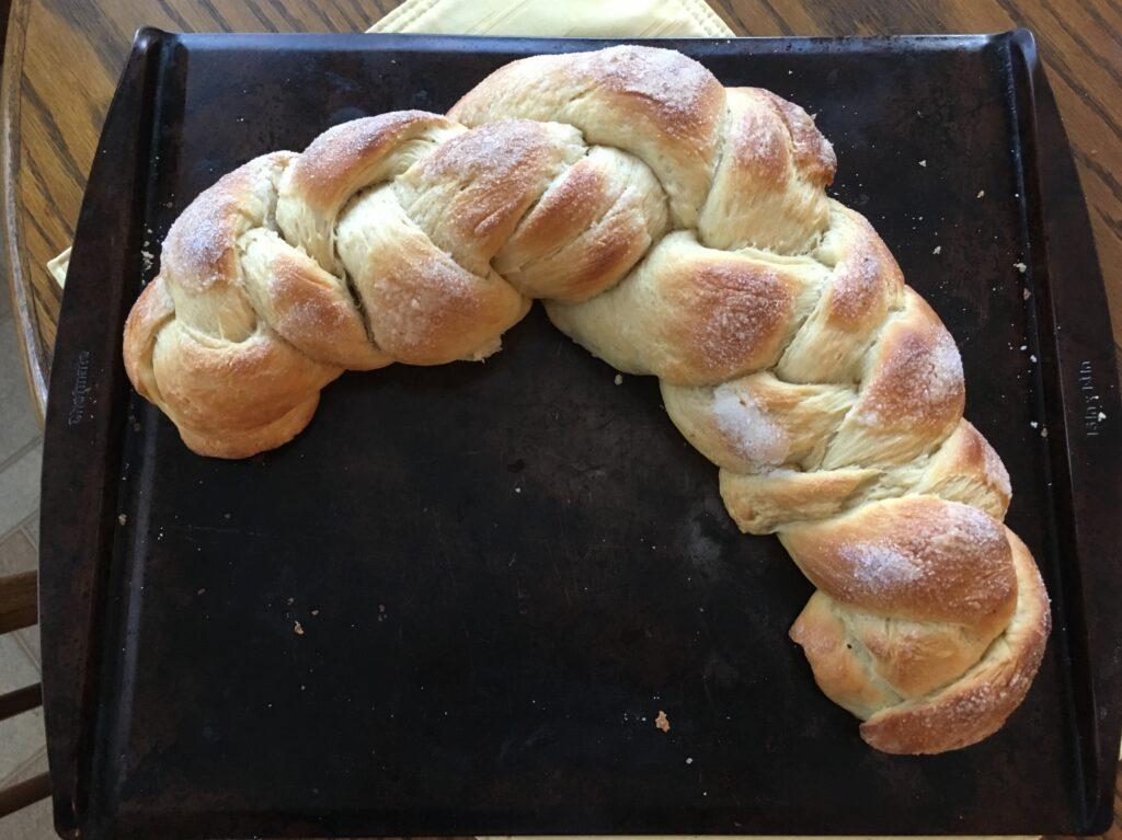 Cardamom Braid Bread